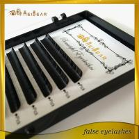 Hand made private label waterproof individual lash extension with custom box
