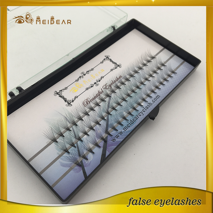 Best selling factory private label volume fan eyelash extension