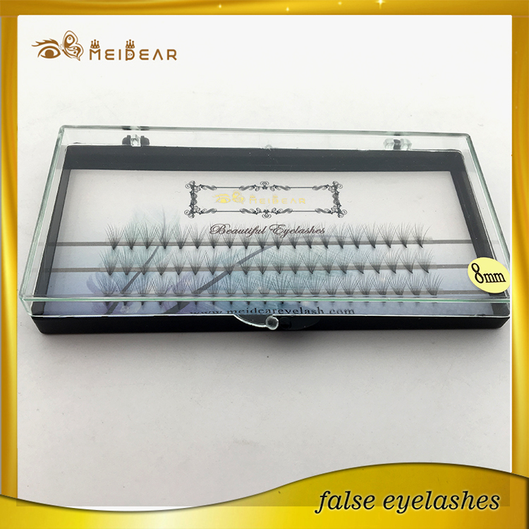 Factory offer wholesale 6D volume individual eyelash extensions private label