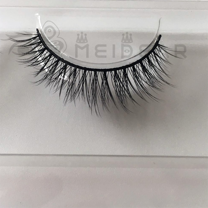 Durable silk eyelashes