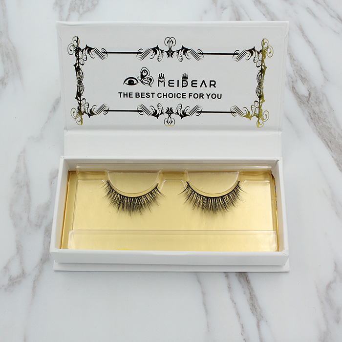 Newly designed  private label false eyelashes in most natural looking style
