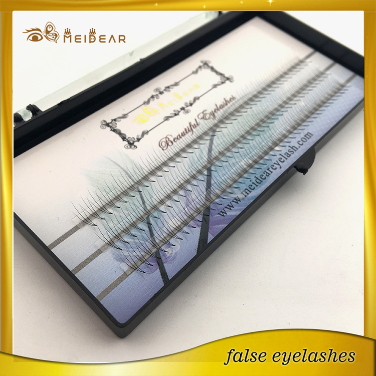 Hand made 2D -10D pre-fanned siberian mink individual eyelash extensions USA
