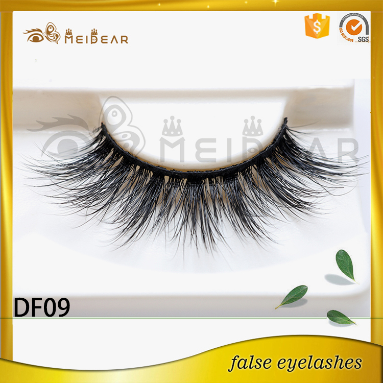 False eyelash packaging producer supply 3d mink eyelash