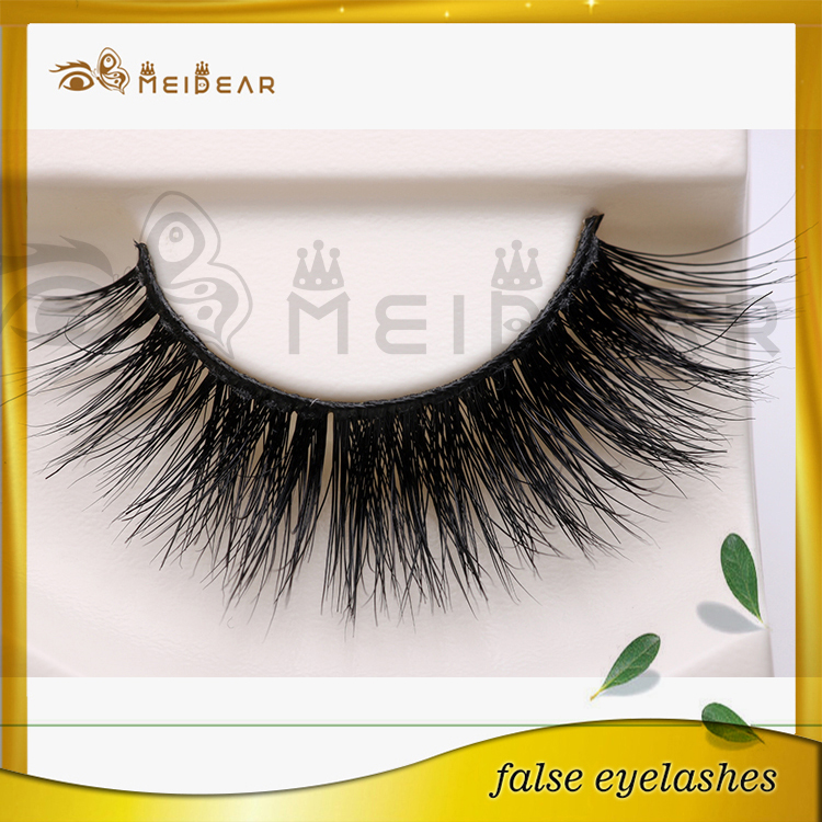 Factory supply private label mink strip false eyelash
