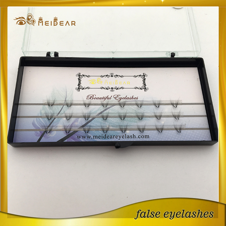 Wholesale glamorous volume eye lashes with own brand boxes