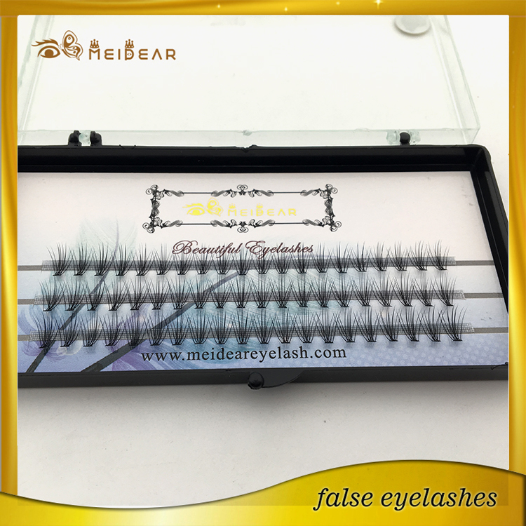Handmade silk volume individual extension custom eyelash packaging