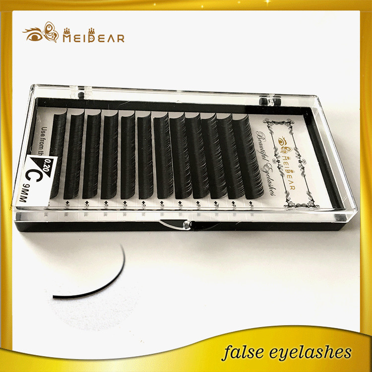 Wholesale custom logo packaging with individual mink lashes extension