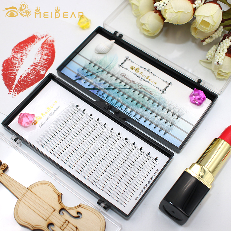 Best seller supply high quality Russian volume eyelash extension with wholesale price