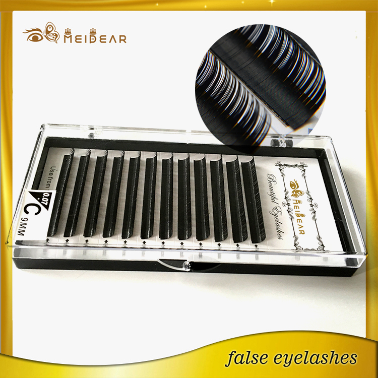 CC curl 6-18mm mink individual lash extensions with wholesale price Indonesia