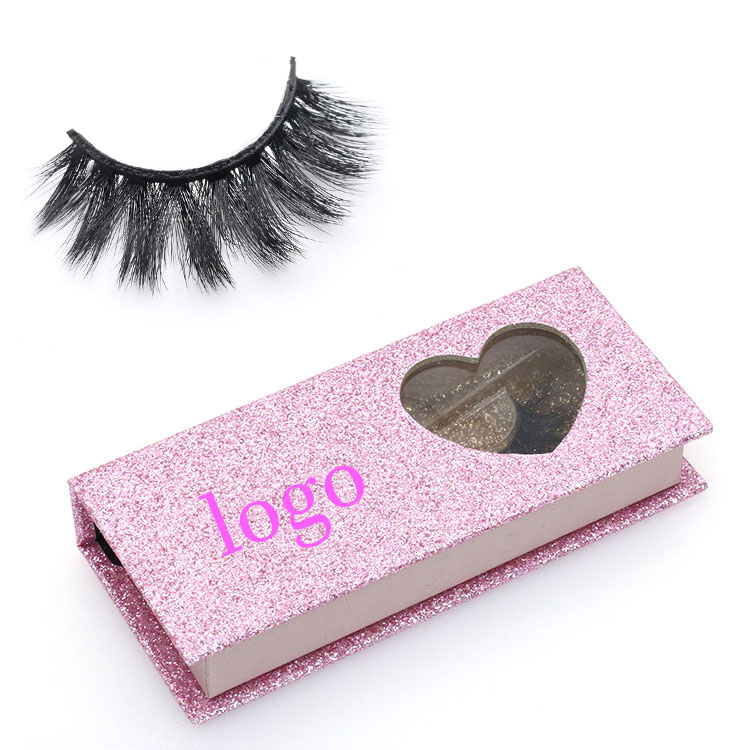 Eyelash distributor provide own brand 3D faux mink strip lashes with private label package