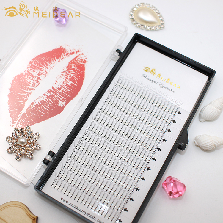 Wholesaler supply private lable handmade pre fan volume eyelash extension