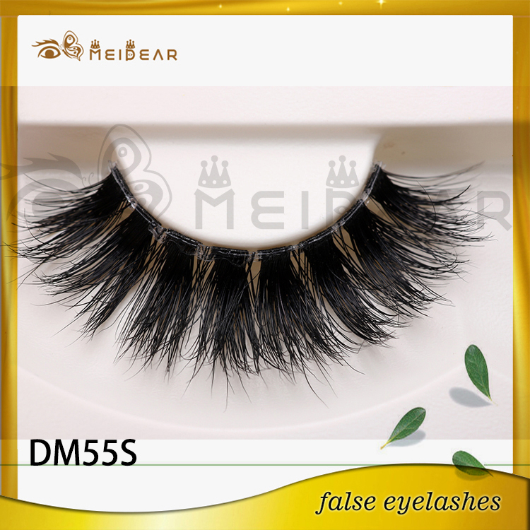 Factory offer high quality 3d mink lashes and custom package service