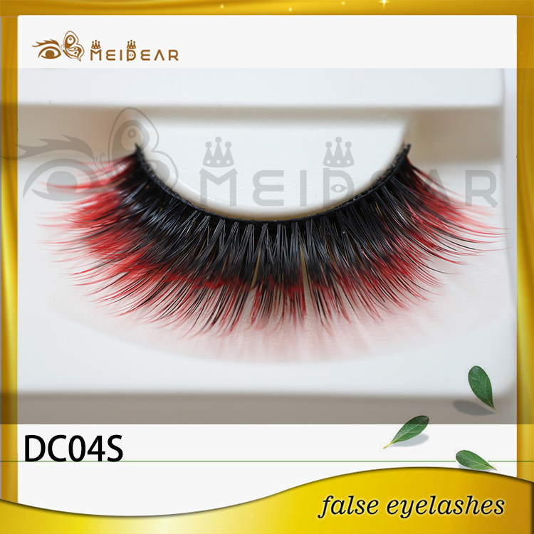 Factory supply private label package lovely 3d faux mink lashes