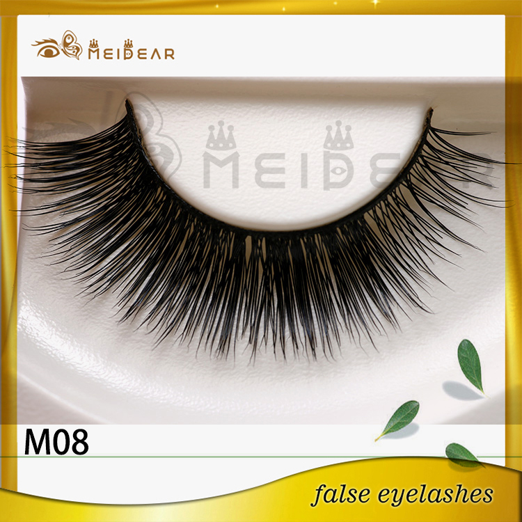 Factory wholesale private label logo mink eyelashes