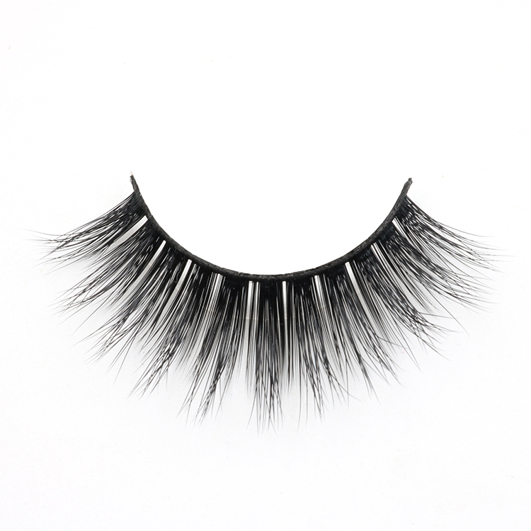 False eyelash manufacturer provide private label glamorous 3d strip false lashes