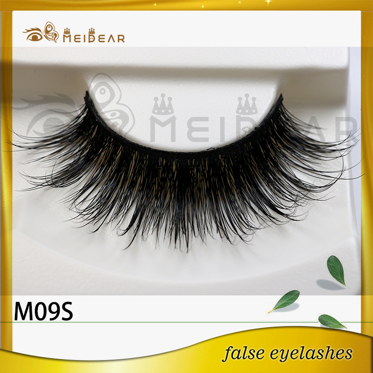 Custom logo real mink lashes  from factory directly