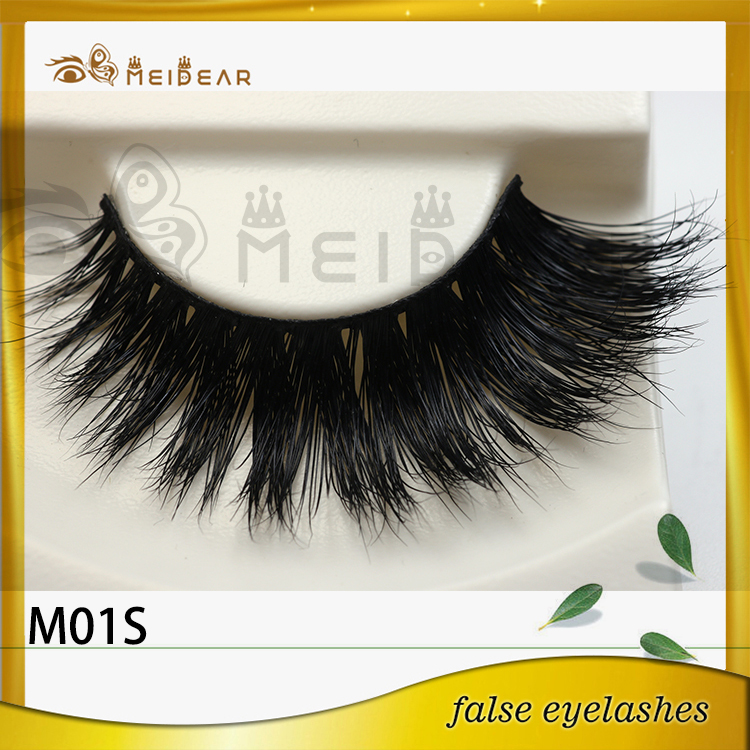 Factory supply low price custom package private label  mink eyelashes