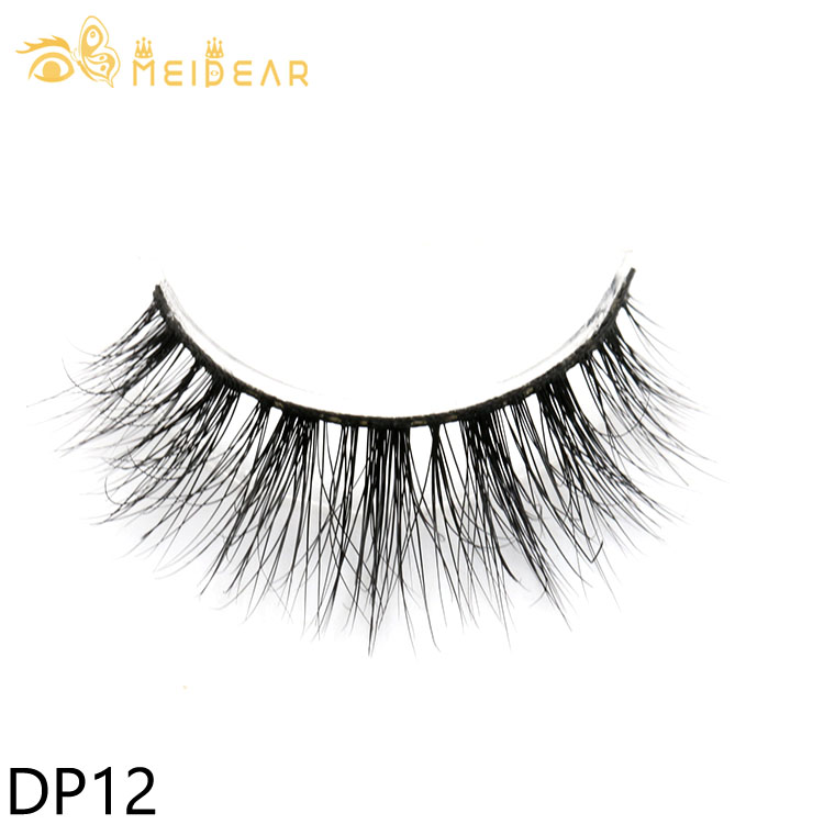 High qualtiy handmade real mink eyelashes with private label packages to USA