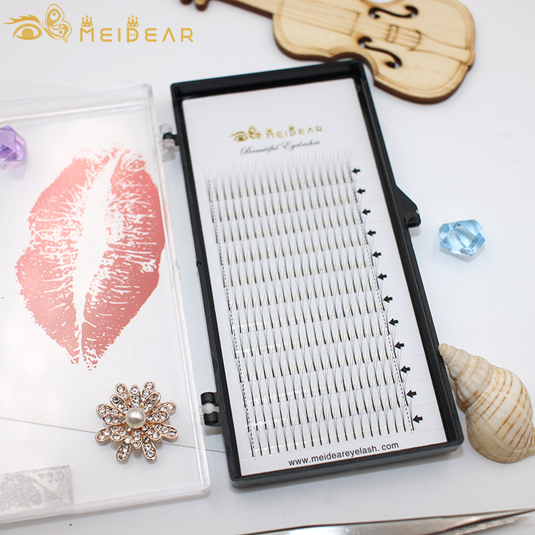 Lightweight and feathery-soft Russian volume eyelash extension with wholesale price