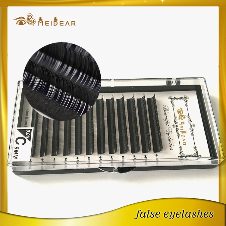 Meidear supply eyelash extensions singapore with custom packaging