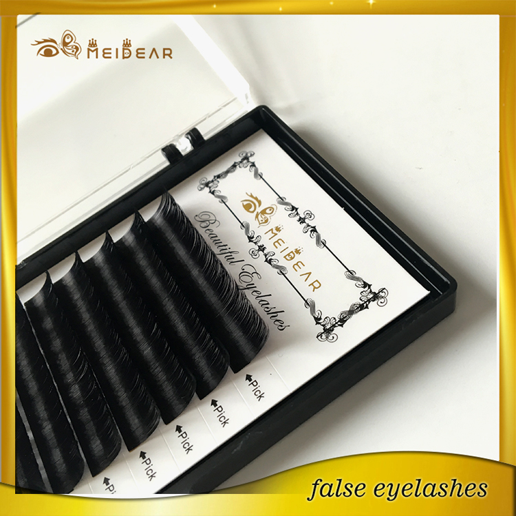 Private label custom package individual mink eyelashes extension