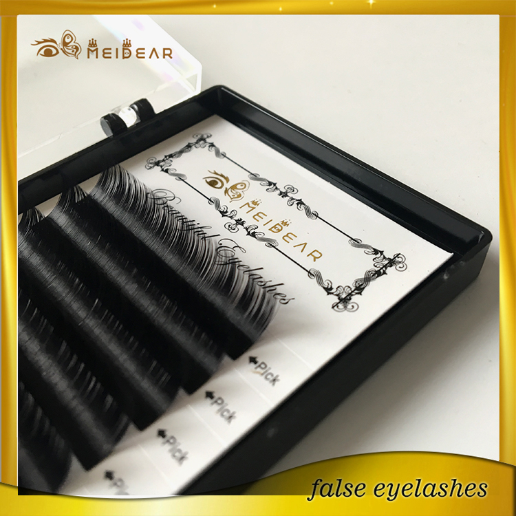 Hot sale most blink mink individual lash extension in custom package