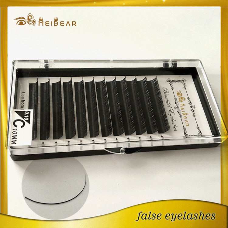 Most popular  high quality mink eyelash extension supplier from china