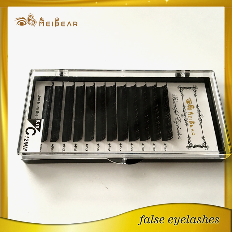 Wholesale Custom Logo Packaging With Individual Mink Lashes