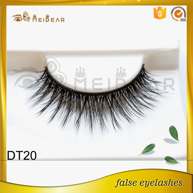 Most famous company offer high quality  faux mink eyelash with wholesale price