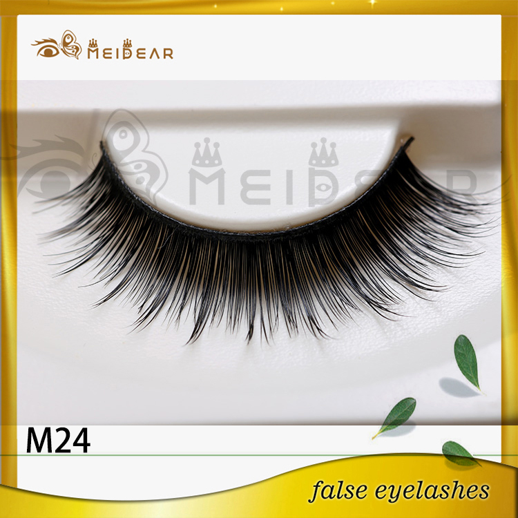 New arrival logo printed beautier mink eyelashes