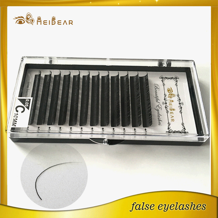 New arrival natural looking mink material eyelash extension for dating USA
