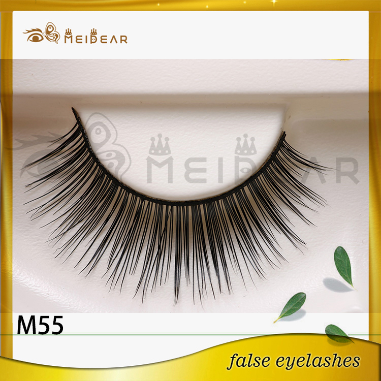 Newly fashion false mink eye lashes in Custom logo box