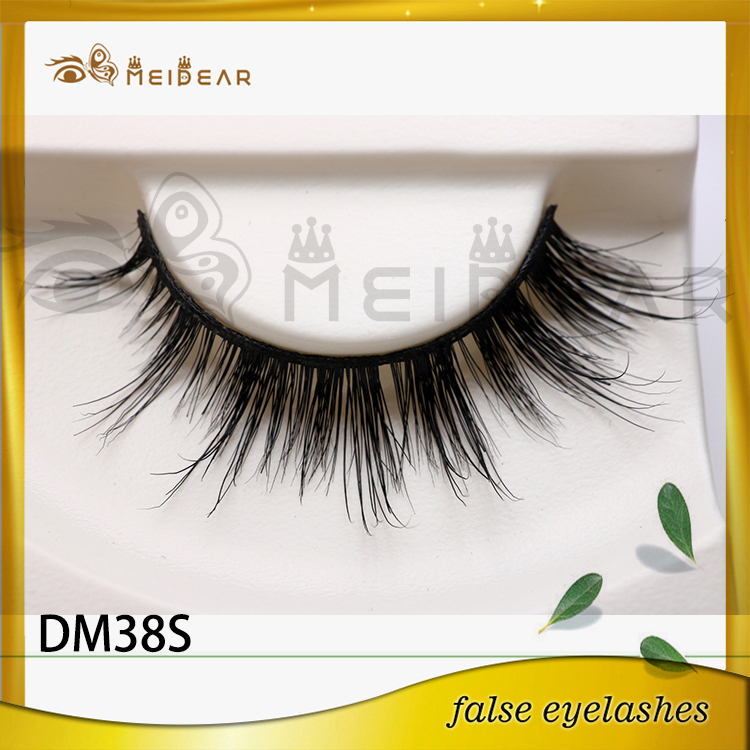 Newly fashion wholesale 3d mink eye lashes in Custom logo package