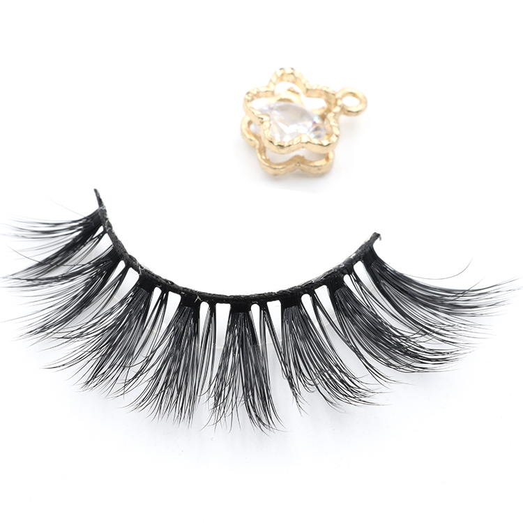 Private label eyelash packaging for own brand 3D silk false eyelashes