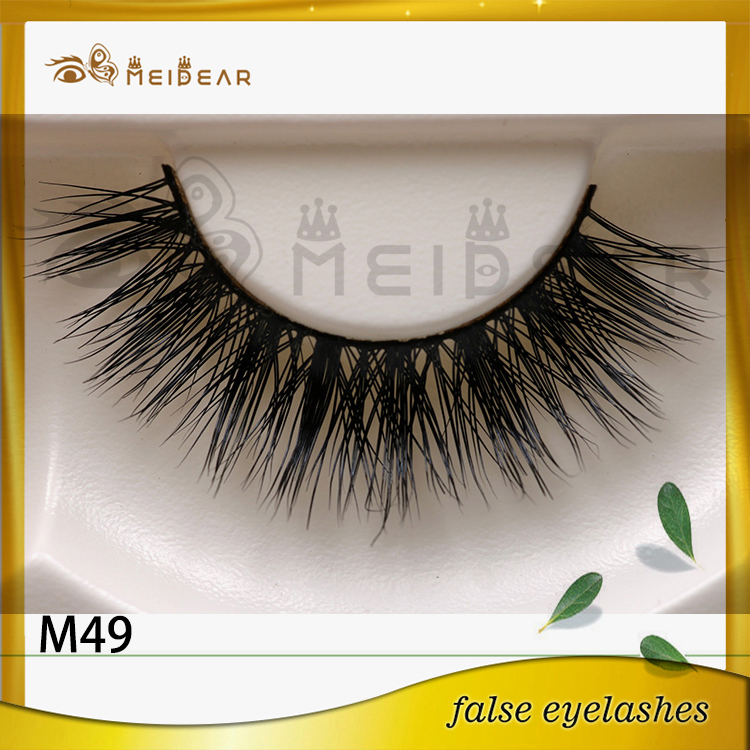 Real mink lashes with private label
