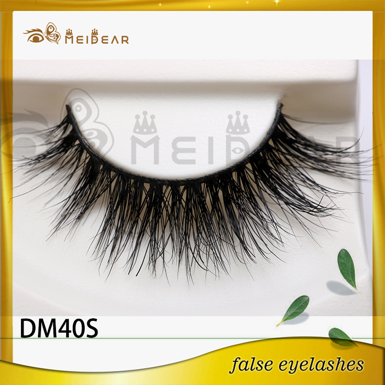 Siberian 3D mink lashes with custom package