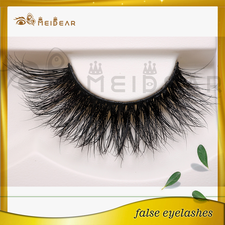 Soft new design private label custom package mink eyelashes 3d mink lashes