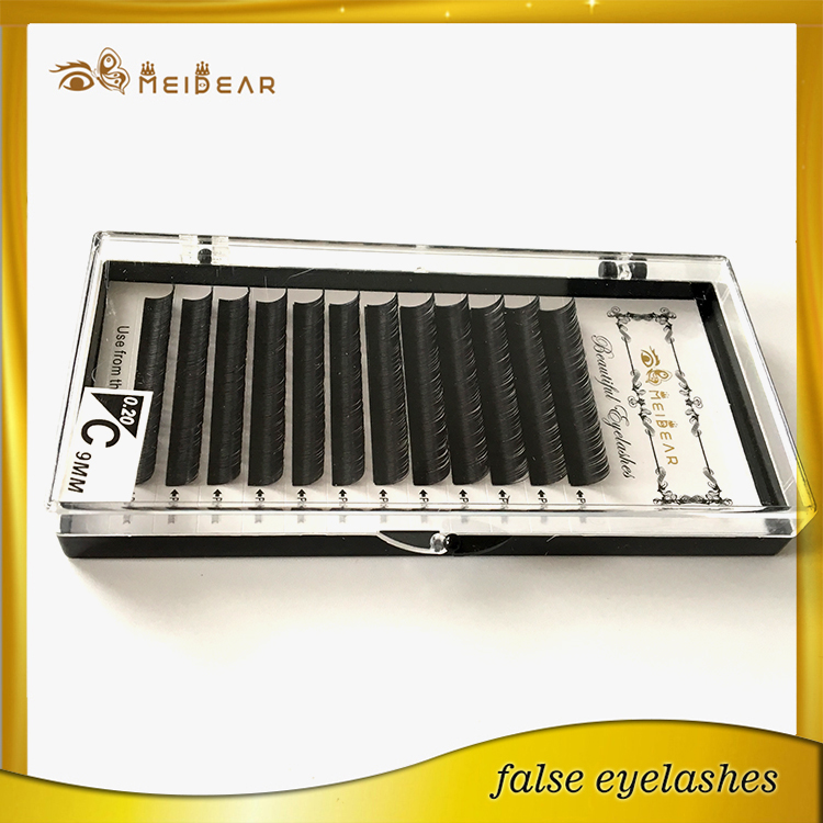 Silk PBT eyelash extension supplier