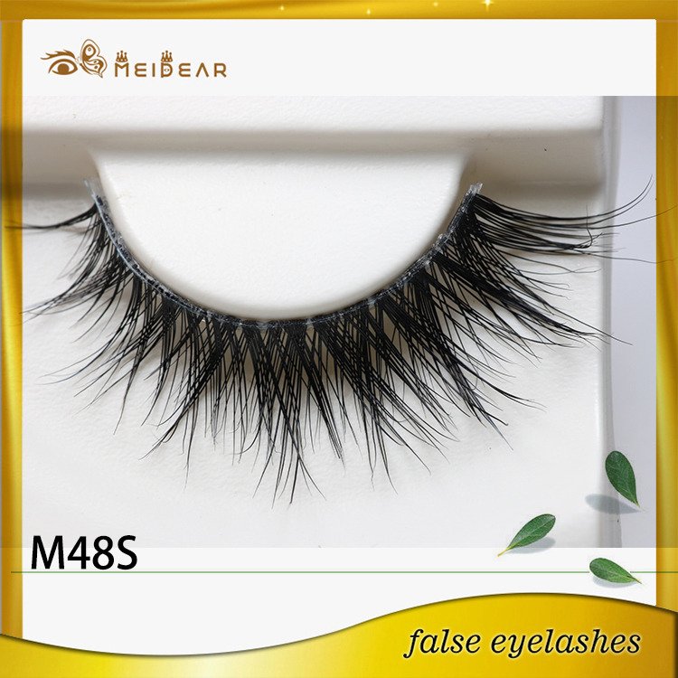 Top quality hand made  mink eyelashes with custom package design