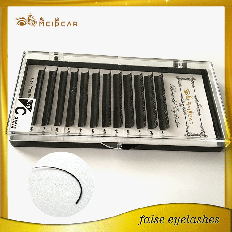 Wholesale own brand mink individual eyelashes and private label