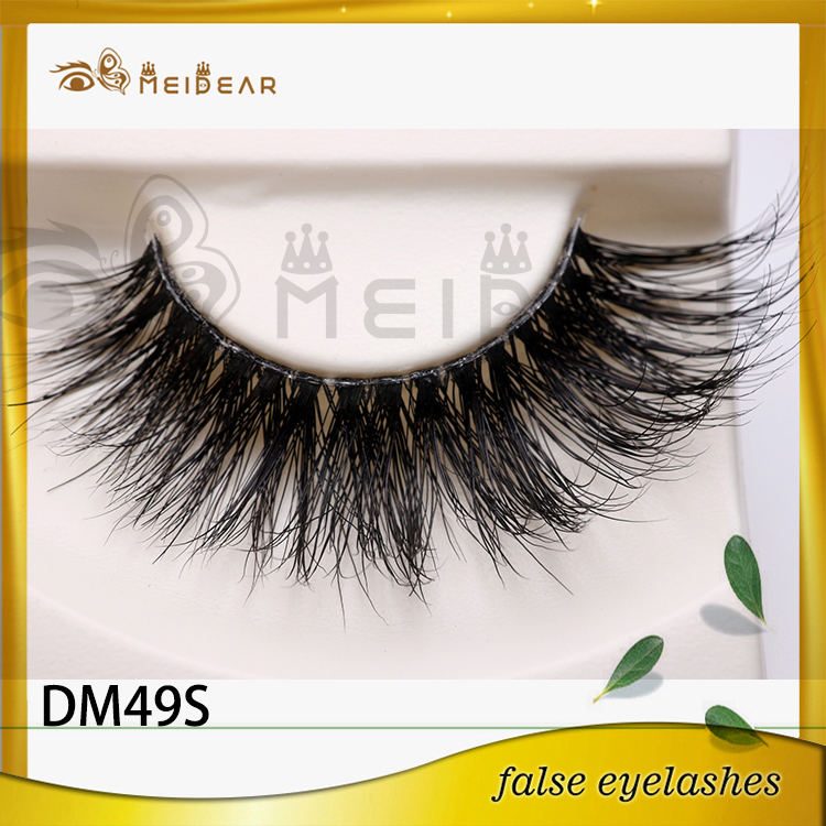 Wholesale custom package 3d mink lashes