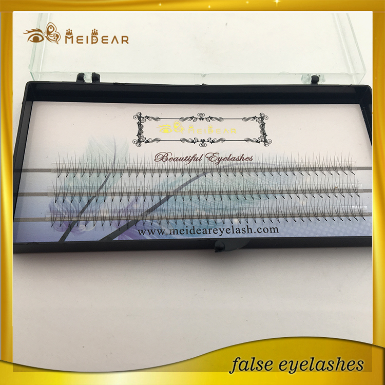 Wholesale private label lightweight pre-fanned volume lashes with custom box