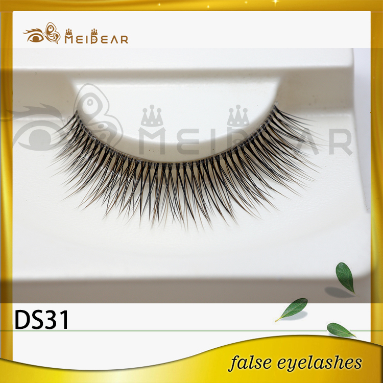 Wholesale dramatic 3d silk eyelashes with custom pacakging box