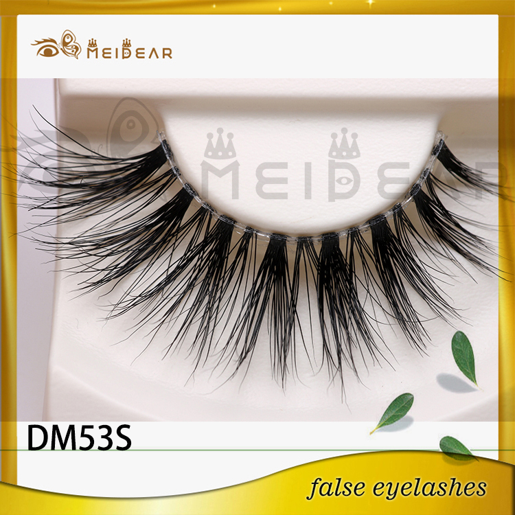 Wholesale glamorous own brand 3d mink eyelashes