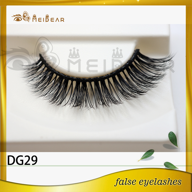 Wholesale hand made false eyelash mink lashes 3d faux mink lashes