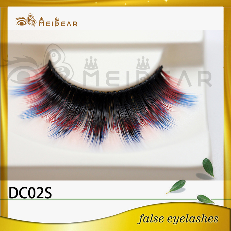 Wholesale premium faux mink strip eyelashes with custom logo packaging