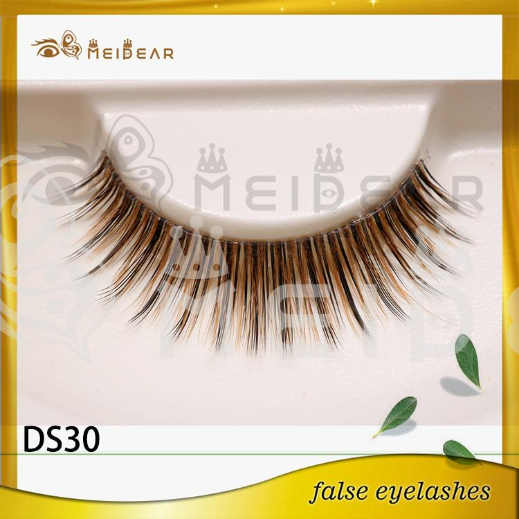 Manufacturer supply custom package 3d silk lashes