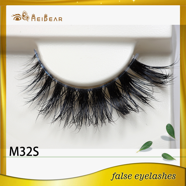 Factory supply private label eye lashes mink eyelashes with wholesale price