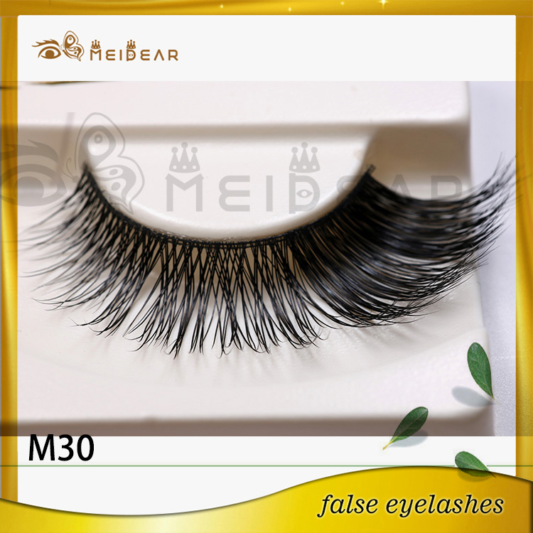 Top Quality Private Label  Real Mink Fur Eye Lashes