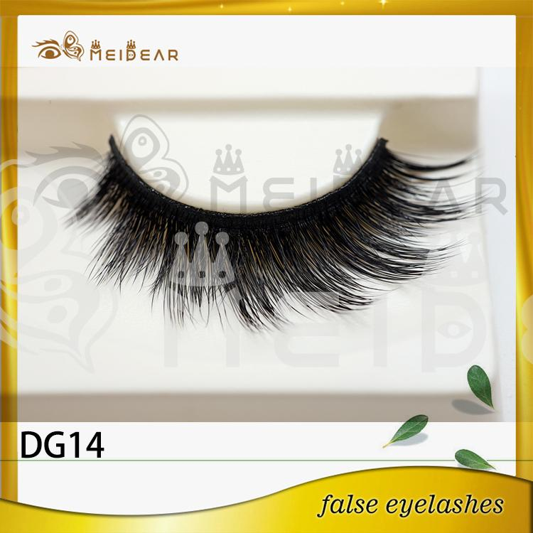 Custom package 3d faux mink lashes with private label